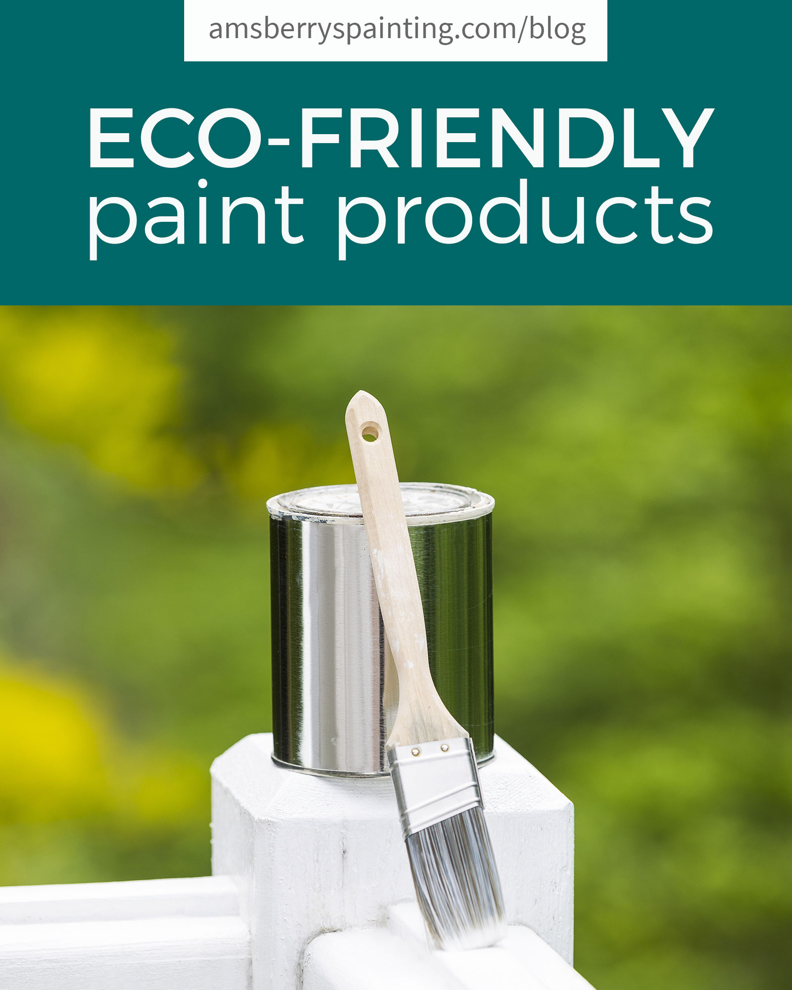 How to get paint out of carpet amsberry 39 s painting for Eco friendly colours for painting