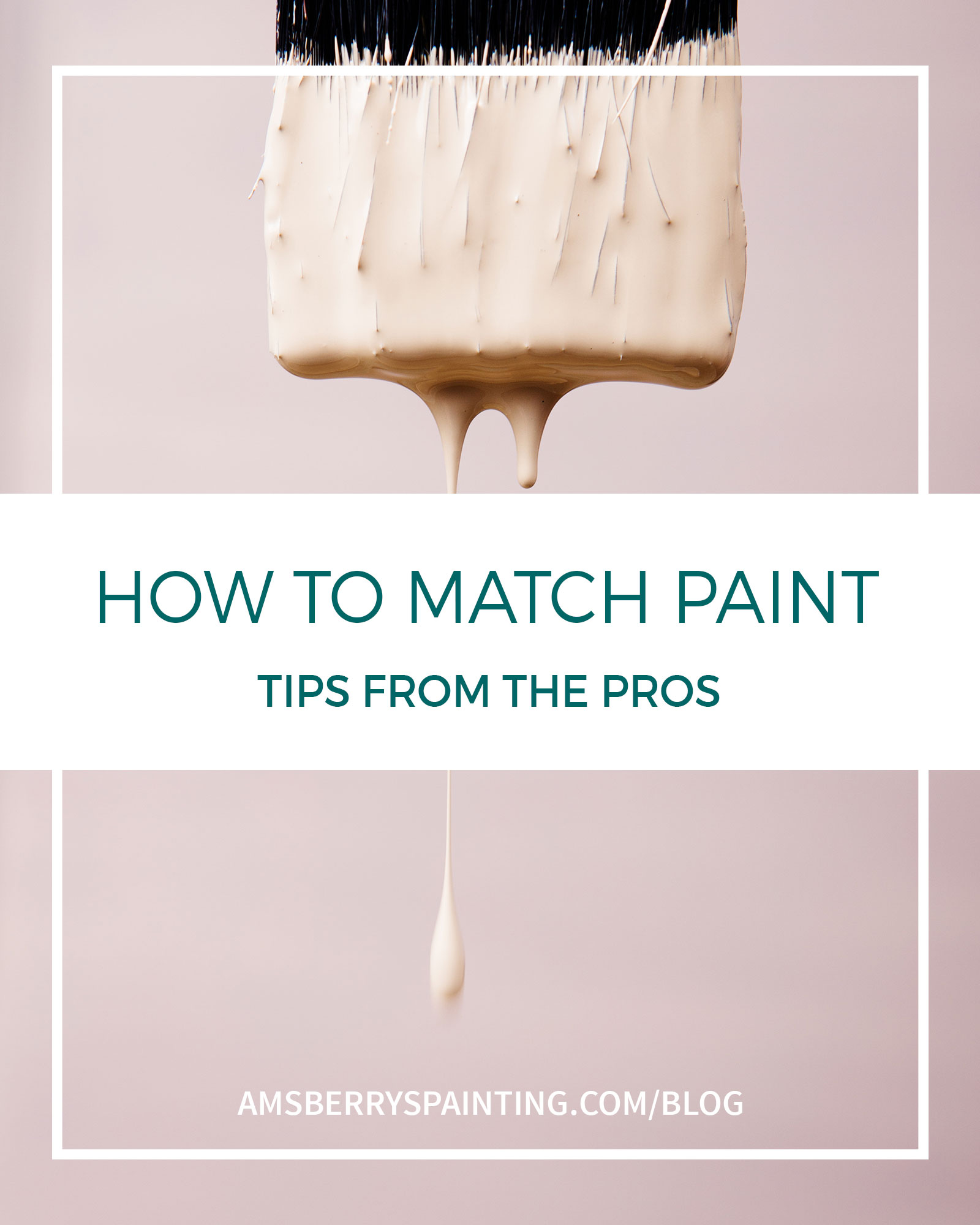 how to match paint