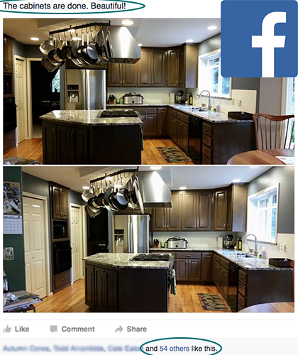 kitchen cabinet remodel refinish