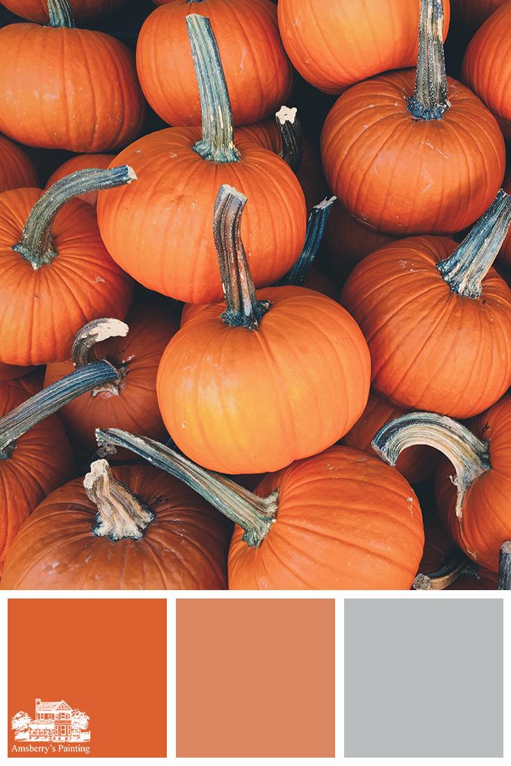 Color Palette // Pumpkin Patch SW6884 Obstinate Orange, SW6634 Copper Harbor, SW7072 Online