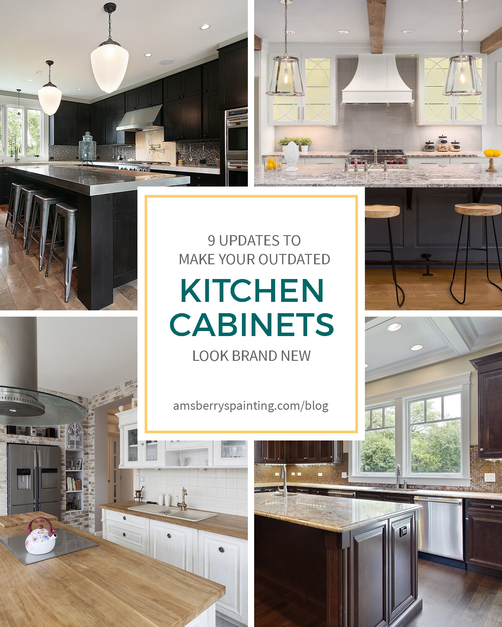03 Oct 9 Upgrades To Make Your Outdated Kitchen Cabinets Look Brand New