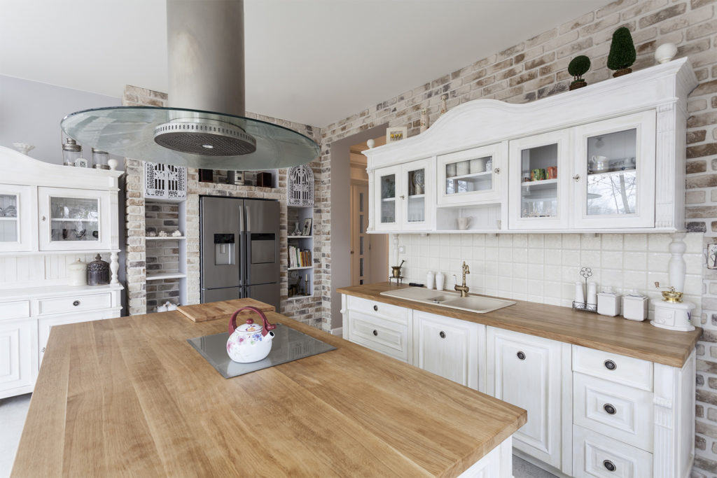 Kitchen Cabinetry That Can Be Achieved By Refinishing Your Cur Those Light Wood Cabinets You Have Don T To The End Of Story