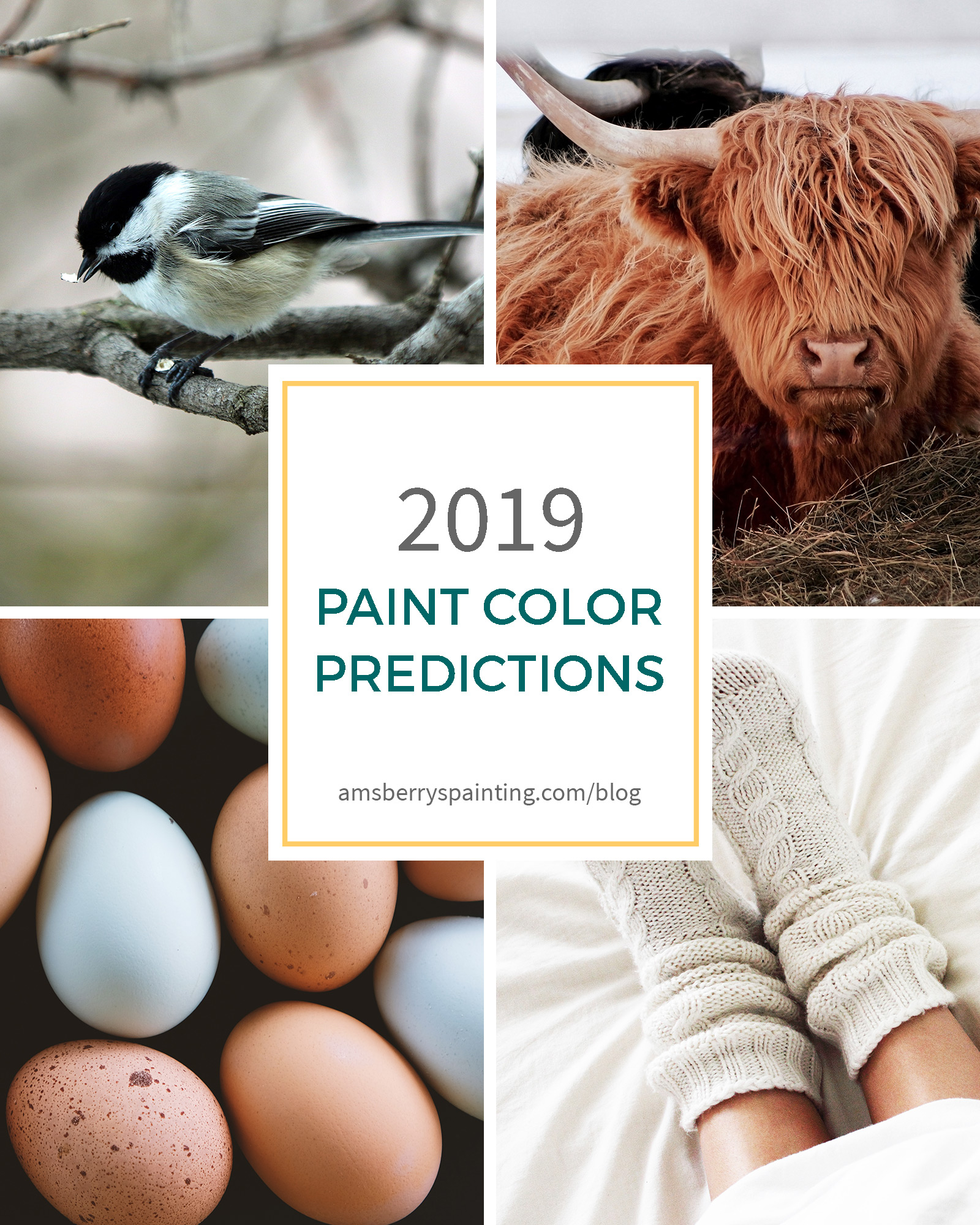 Paint color predictions 2019 new year new colors - New year 2019 color ...
